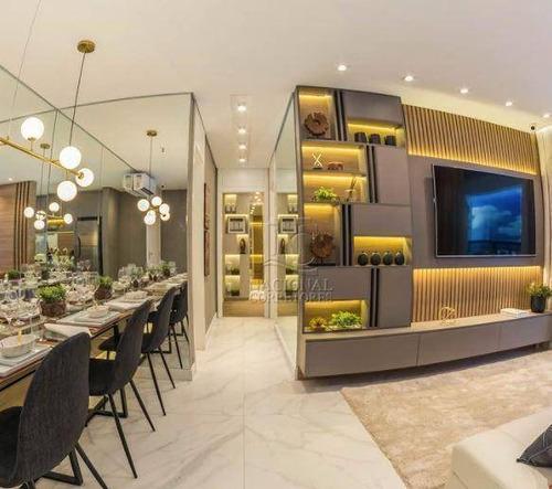 Imagem 1 de 30 de Apartamento Com 2 Dormitórios À Venda, 56 M² Por R$ 440.000,00 - Campestre - Santo André/sp - Ap12269