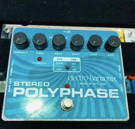 Pedal Electro Harmonix Stereo Poly Phase Ótimo Estado!