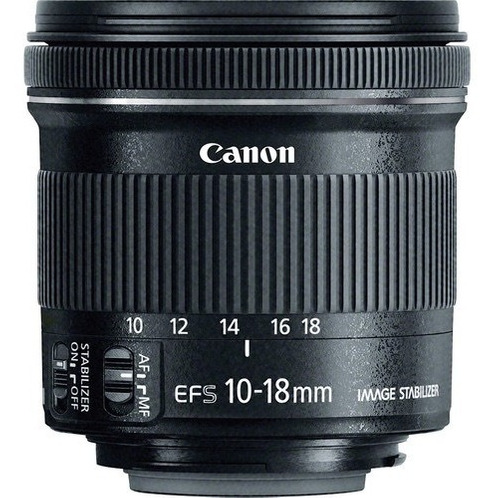 Canon Ef-s 10-18mm F4.5-5.6 Is Lente Stm - Garantia E Nfe
