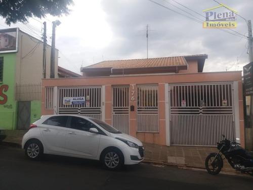 Casa Com 3 Dormitórios À Venda, 140 M²  - Centro - Sumaré/sp - Ca1742