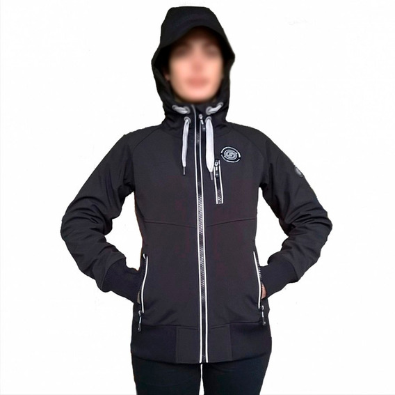 Campera De Softshell Impermeable Mujer Surfanicº