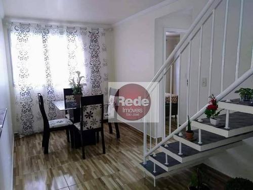 Apartamento Com 2 Dormitórios À Venda, 98 M² Por R$ 255.000,00 - Bosque Dos Eucaliptos - São José Dos Campos/sp - Ap4046