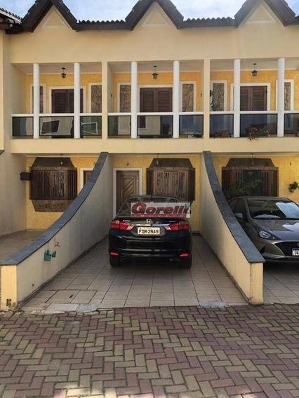 Casa Com 2 Dormitórios À Venda, 87 M² Por R$ 550.000 - Vila Augusta - Guarulhos/sp - Ca1656
