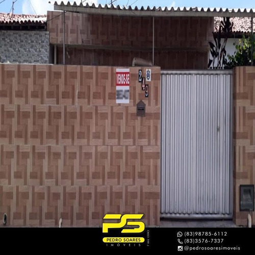 (oportunidade)  Casa Com 4 Dormitórios À Venda, 120 M² Por R$ 210.000 - Mangabeira - João Pessoa/pb - Ca0889