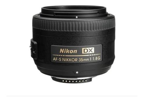 Imagem 1 de 8 de Lente Nikon Af-s Nikkor 35mm F/1.8g Autofoco Pronta Entrega