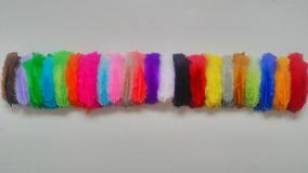 Penas Coloridas Artesanato 200 Unidades