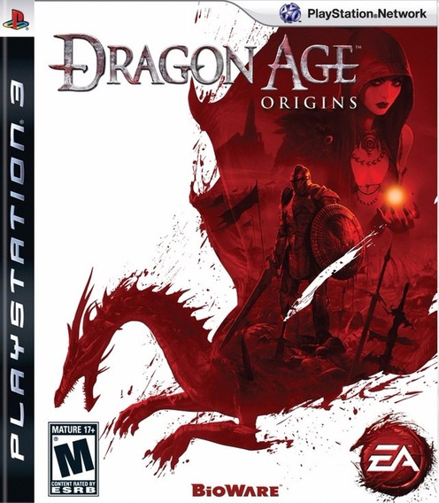 Jogo Dragon Age Origins Ps3 Playstation 3 Mídia Física Rpg