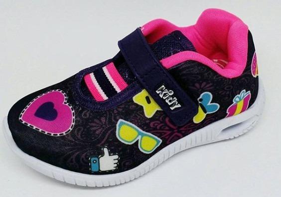 Tênis Infantil Kidy Menina Hoox Baby Pink Ref. 0303405a0617c