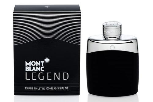 Perfume Loción Mont Blanc Legend Hombre - L a $800