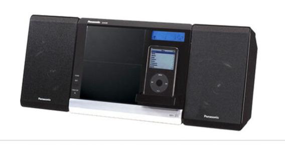 Dock Station iPod Micro System Panasonic C. Controle Remoto