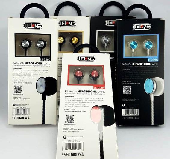 13 - Fone De Ouvido Com Microfone Lelong Le-0209 - 66