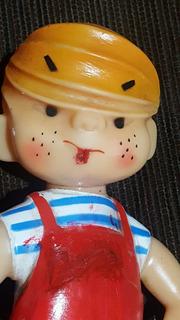 Boneco Brinquedo Estrela Vinil Pimentinha Antigo Raro 19 Cm