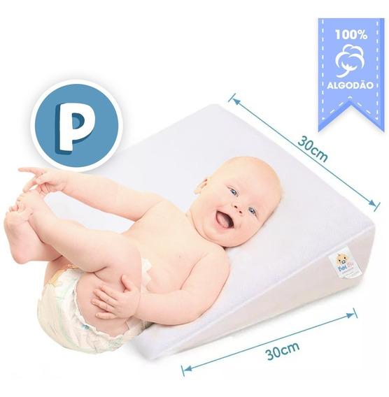 Bebê Travesseiro Anti Refluxo Rampa Berço Carrinho Grávida P