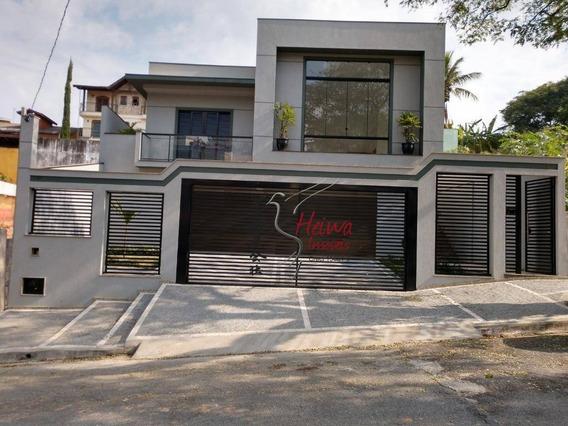 Casa Com 4 Dormitórios À Venda, 320 M² Por R$ 1.800.000 - City América - São Paulo/sp - Ca0676