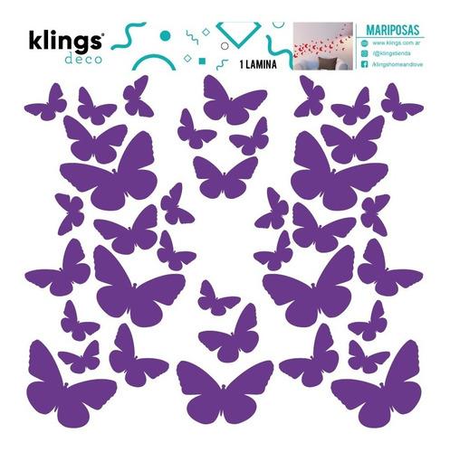 Vinilos Decorativos Mariposas Varios Colores Trama