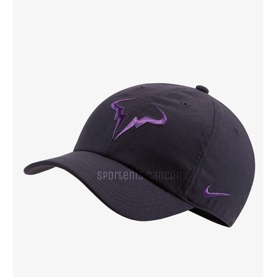 Gorra Nike Nadal Court Aerobill Rafa Heritage86Gris
