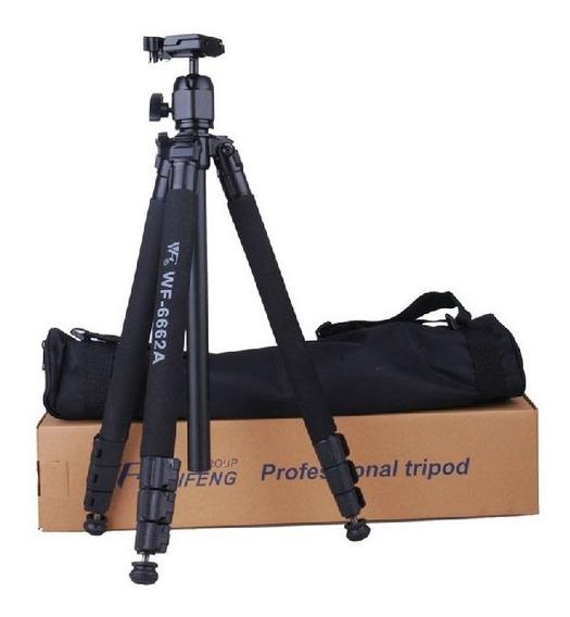 * Tripe Weifeng Wf-6662a Camera Filmadora Nikon Canon Sony E
