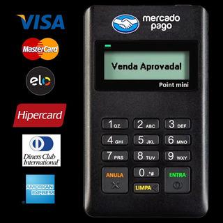 Maquininha De Cartão Point - Sem Aluguel Credito Debito