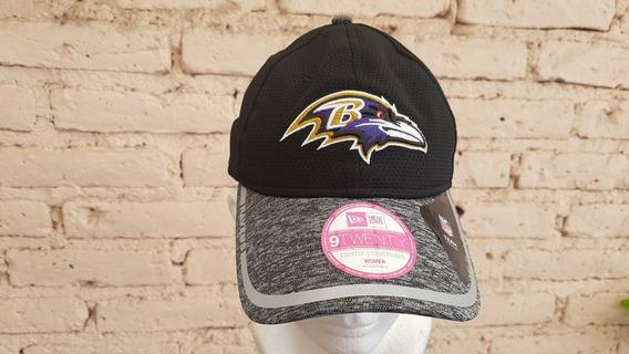 Gorra De Los Cuervos De Baltimore New Era Mujer
