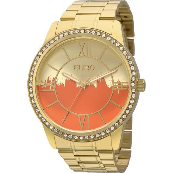 Relógio Euro Feminino Paint Original Garantia Eu2035yea/4r