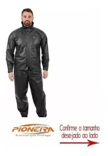 Capa De Chuva Para Motoboy Pioneira