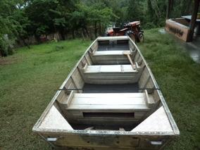 Barco De Aluminio Chata 4,20 Mts (leia A Descrição)
