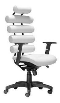 Imagen 1 de 9 de Silla De Oficina Modelo Unico - Blanco Këssa Muebles