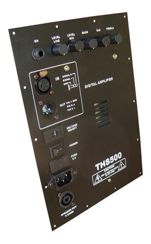 Painel Amplificador Ativador De Caixa 500 Watts Rms