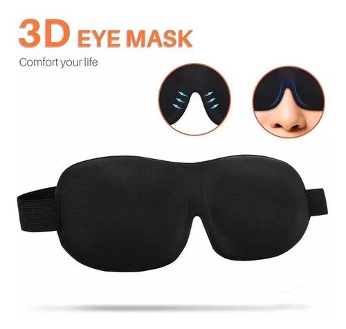 Antifaz Mascara 3d Para Dormir Viajar Relajarse Relax Sueño