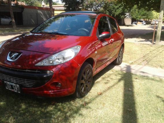 Peugeot 207 Compact Xt 1.6l 5 Ptas,mod. 2010, Exelente!!!