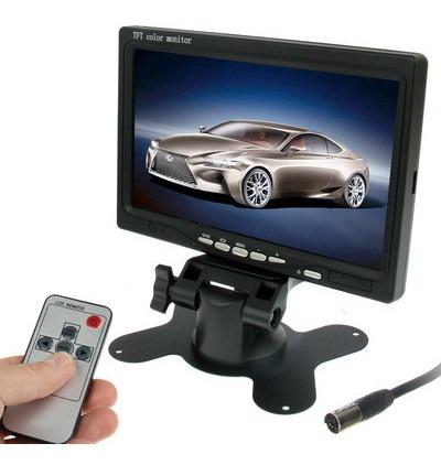 Monitor Vehiculo 7.0 Camara Vigilancia Soporte Angulo