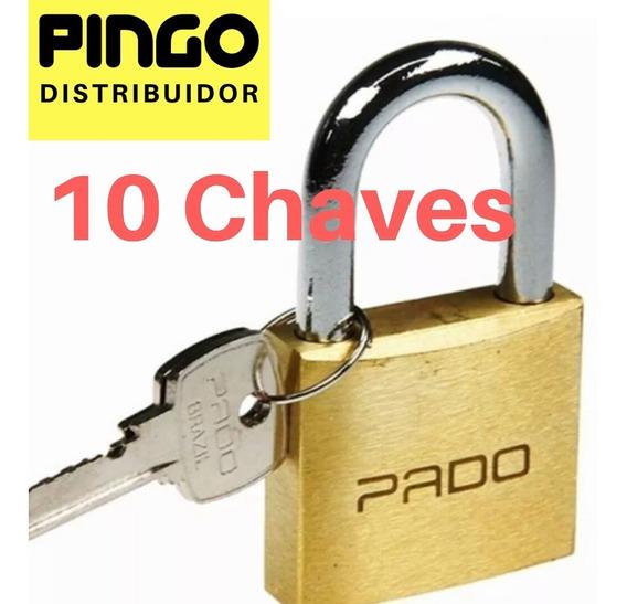 Cadeado Pado 50mm (com 10 Chaves No Total )