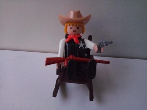 Muñeco Playmobil Sheriff Vintage