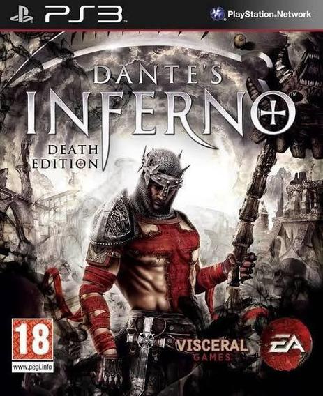 Jogo De Ps3 Dantes Inferno Em Mídia Digital