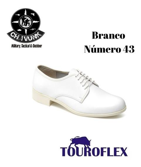 Sapato Touroflex Tradicional Social Branco 4500 Número 43