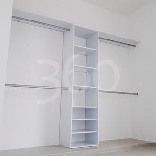 Closet Minimalista Moderno 1b - Instalación Gratis En Cancún