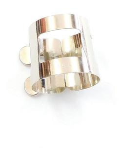 Abraçadeira Metal Niquelada P/ Boquilha Sax Tenor