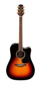 Violão Elétrico Takamine Folk Aço Gd51 Ce Bsb Brown Sunburst