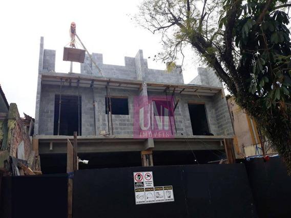 Cobertura Com 2 Dormitórios À Venda, 90 M² Por R$ 340.000 - Vila Assunção - Santo André/sp - Co0759