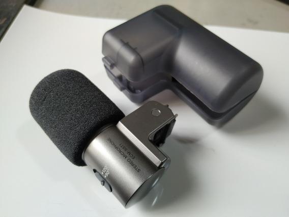 Microfone Stereo Original P/ Câmera Sony Nex Ecm-sst1