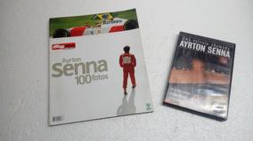 Revista Quatro Rodas Senna + Dvd Ayrton Senna Original