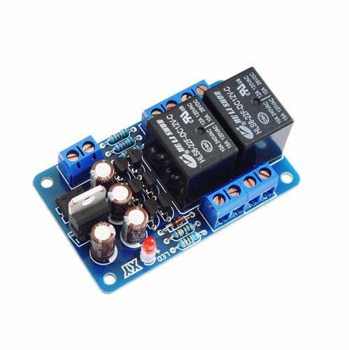 Kit Placa De Proteção Dc Com Delay Para Amplificador Taimer