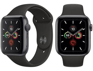 Apple Watch S5 44mm Space Gray Al Pr Anth/blk Sp Band Gps