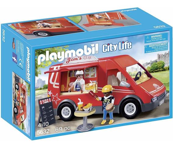 Playmobil City Action Camión De Comida