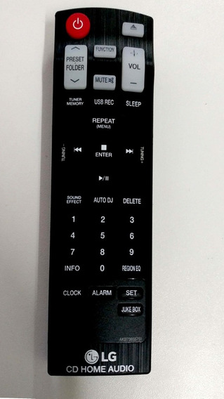 Controle Cm8040 Akb73655751 Novo Original Pronta Entrega