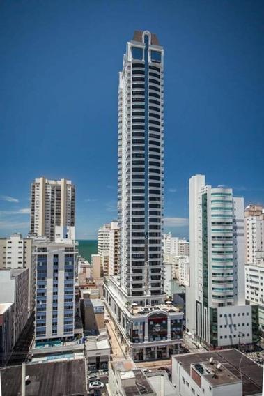 Apartamento Com 3 Quartos Para Comprar No Centro Em Balneário Camboriú/sc - 1814