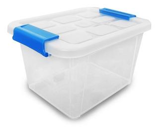 Caja Container Tapa Transparente Plastico Almacenamiento 6 L