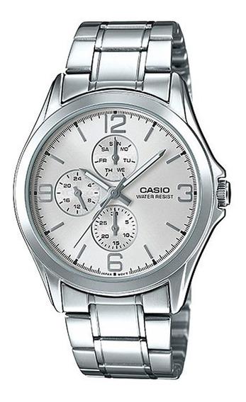 Relógio Casio Aço - Mtp-v301d-7audf