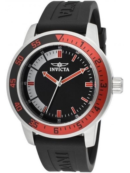 Reloj Invicta 12845 Especialidades Acero Inoxidable Silicona