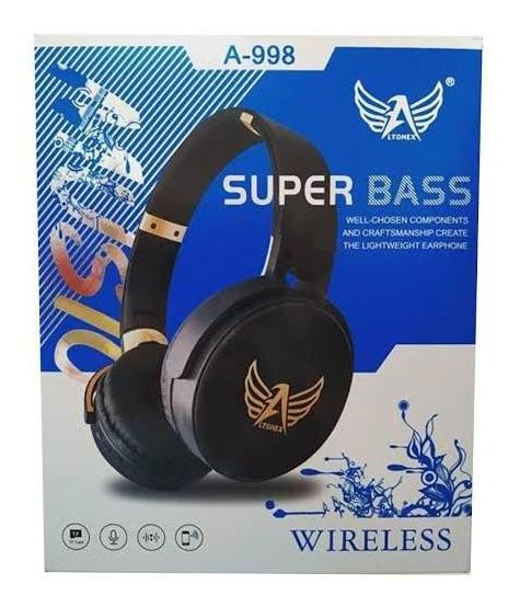 Headphone Bluetooth Altomex A-998